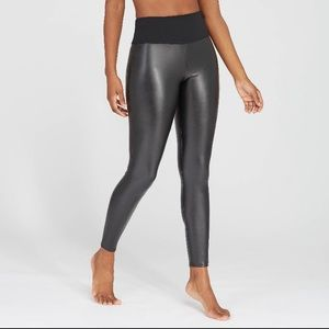 ASSETS by SPANX All Over Faux Leather Leggings